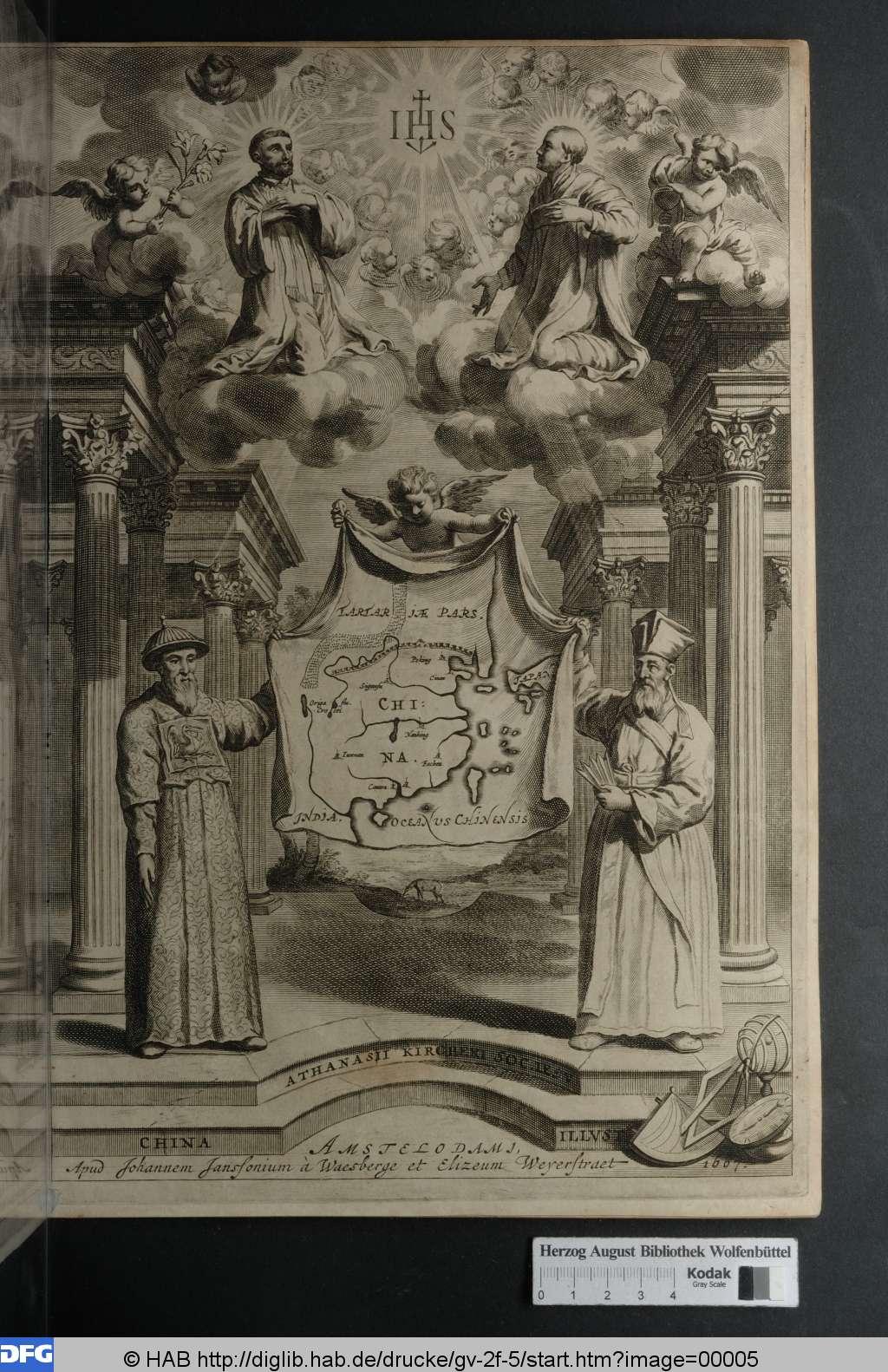 Kircher: China illustrata (1667) | © Herzog August Bibliothek Wolfenbüttel <http://diglib.hab.de/drucke/gv-2f-5/start.htm>