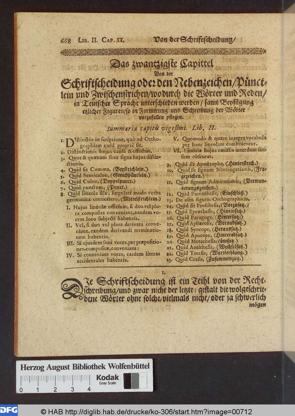 history why are the german guillemets inverted german original scan from the contents on punctuation from schottel 1663