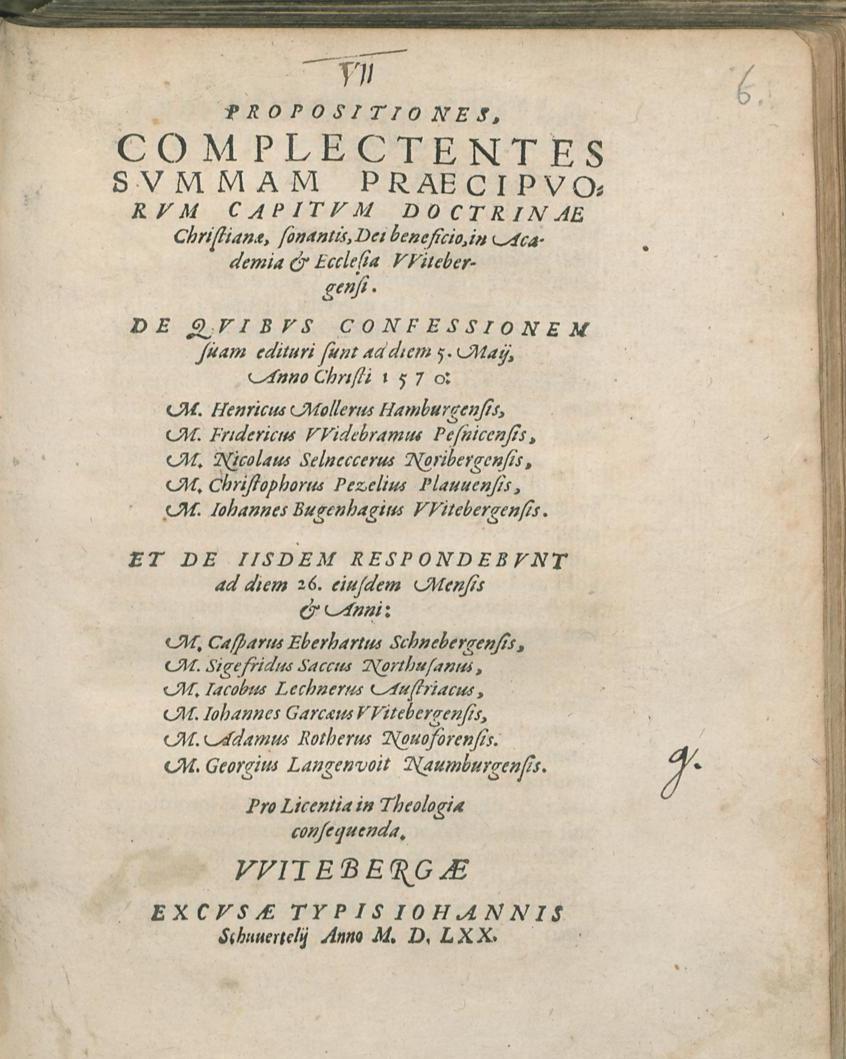 [Titelblatt Wittenberger Katechismus]
