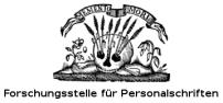 [Logo Forschungsstelle für Personalschriften]