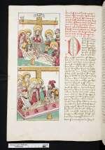Das Leben und Leiden Jesu (Cod. Guelf. 1.11 Aug. 2°, 185v)