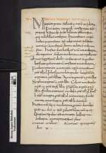 Liber pontificalis, Weißenburg, 9. Jh., 1. Hälfte (Cod. Guelf. 10.11 Aug. 4°, 20v)