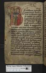 Evangelia quattuor, Lamspringe, 12. Jh., Ende (Cod. Guelf. 1012 Helmst., 1v)