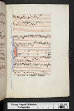 Cod. Guelf. 1099 Helmst. — Organa, conductus, moteti (W2) — Frankreich, 13. Jh.