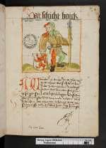Cod. Guelf. 120 Extrav. — Hermann Bote: Schichtbuch — Braunschweig, 1514