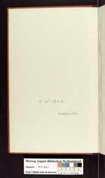 Cod. Guelf. 158 Noviss. 2° — Otto von Heinemann, Catalogus Librorum mannscriptorum qui sub titulo Novorum in Bibliotheca Augusta asservantur, 1870 – 1871 —