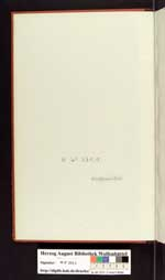 Cod. Guelf. 158 Noviss. 2°