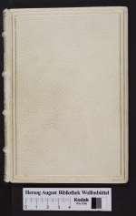 Cod. Guelf. 287 Extrav. — Chansonnier — 15. Jh.