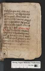 Cod. Guelf. 404.10 Novi (5) — Lateinisches Andachtsbuch mit niederdeutschen Gebeten. Fragment — 15. Jh.