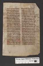 Cod. Guelf. 404.10 Novi (9) — Niederdeutsches Brevier. Fragmente — 13. Jh.