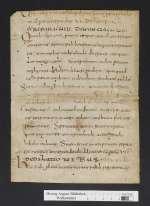 Cod. Guelf. 404.2 Novi (16) — Epitome Legis Romanae Visigothorum. Fragment — Frankreich, 8. Jh., Ende