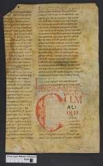 Cod. Guelf. 404.5 Novi (7) — Homiliar. Fragment — Deutschland?, 11./12. Jh.