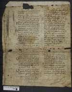 Cod. Guelf. 404.7 Novi (25a) — Cresconius: Concordia canonum (Fragment) — 9. Jh.