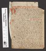 Cod. Guelf. 404.8 Novi (35) — Innozenz III. De Contemptu Mundi. Fragmente — Italien, 14. Jh.