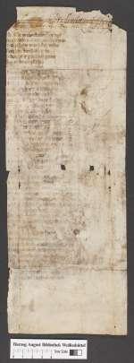 Cod. Guelf. 404.9 Novi (10) — Wolfram von Eschenbach: Willehalm, Fragment — 14. Jh.
