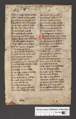 Cod. Guelf. 404.9 Novi (19) — Heinrich von Hesler: Erlsung, Fragment — 14. Jh.