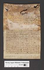 Cod. Guelf. 404.9 Novi (22) — Deutsche Osterpredigt, Fragmente — 13. Jh.
