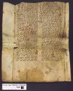 Cod. Guelf. 43 Noviss. 4° — Fragment des Talmudkommentars von Raši — 12. Jh.