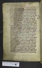 Quodvultdeus; Vitas patrum; Beda Venerabilis; Hugo de Sancto Victore, Lamspringe, um 1200 (Cod. Guelf. 480 Helmst., 1v)