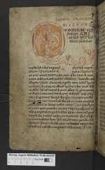 Gregorius I papa, Lamspringe, 12. Jh., 4. Viertel (Cod. Guelf. 519 Helmst., 1v)
