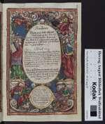 Künstliche Bildtnus oder Abcontrofehung der furnemsten gottseligen Frawen im Alten Testament mit zugehörigen schonen christlichen Gebetlein durch Hieronymus Örtl Augustanus, 1605 (Cod. Guelf. 54.10 Aug. 4°, 2r)
