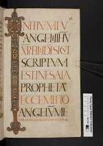 Evangeliar, Weißenburg, 9. Jh. 2. Viertel (Cod. Guelf. 61 Weiss., 63r)