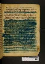 Cod. Guelf. 76 Weiss. — Gallicanisches Lektionar und Pomerius (Palimpsest) — Südfrankreich, 7./8. Jh.
