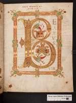 Psalter, St. Bertin, 9. Jh. (Cod. Guelf. 81.17 Aug. 2°, 2r)