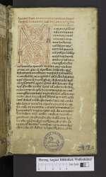 Augustinus; Gregorius I papa (Cod. Guelf. 903 Helmst., 1r)