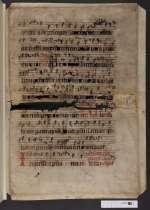 Pgt. Frgm. 2 — Antiphonale officii — Niedersachsen, 15. Jh.