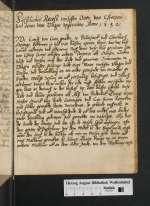 Cod. Guelf. S 397.4° Helmst. (4) — Fürstlicher Receß twischen Otten von Estorpen und denen von Ultzen upgerichtet. Anno 1532 — 1532