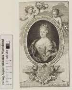 Bildnis Elisabeth Sophie, Markgräfin von Brandenburg-Bayreuth, geb. Prinzessin von Brandenburg, Johann Christian Marchand- (Quelle: Digitaler Portraitindex)