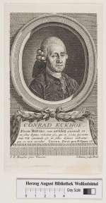 Bildnis (Hans) Conrad (Dietrich) Ekhof, Nicolai, Friedrich-1774 (Quelle: Digitaler Portraitindex)