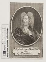 Bildnis Christian Friedrich Hunold (Ps. Menantes), Bernigeroth, Martin- (Quelle: Digitaler Portraitindex)