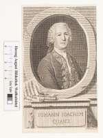 Bildnis Johann Joachim Quantz, Nicolai, Friedrich - 1767 (Quelle: Digitaler Portraitindex)
