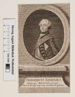Bildnis Friedrich Eugen, Herzog von W�rttemberg (reg. 1795-97), August Lebrecht Stettin - 1777 (Quelle: Digitaler Portraitindex)