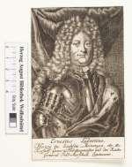 Bildnis Ernst Ludwig I., Herzog zu Sachsen-Meiningen (reg. 1706-24),  (Quelle: Digitaler Portraitindex)
