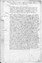 Reg. O 359, fol. 2r-v — Andreas Karlstadt an die Universität Wittenberg [Wittenberg], [1515, 10. Juni] — Wittenberg, 10.6.1515