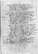 Reg. O 209, fol. 54r-v — Bedenken Andreas Karlstadts über die Rechtsverhältnisse der Propstei am Wittenberger Allerheiligenstift (verschollen) — [1516, vor 23. August]