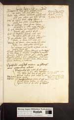 Cod. Guelf. 125.2 Quod. 2° (1a) — Ars memorandi — Anfang 16. Jh.