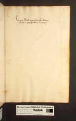 Cod. Guelf. 154.3 Quod. 2° (2a) — Pius II., Hieronymus-Exzerpte, Fabulae — 15. Jh.