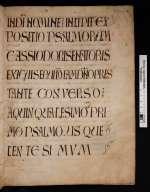 Cod. Guelf. 24 Weiss. — Cassiodor: Psalmenkommentar II — Weissenburg, VIII./IX. Jh.