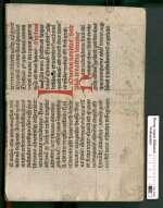 Cod. Guelf. 3.2 Aug. 4° — Jacobs von Cessolis Schachzabel. Fabeln aus Ulrich Boners Edelstein — 15. Jh.