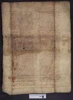 Cod. Guelf. 404.8.4 Novi (1) — Legendarium, Fragment — Frankreich, 9. Jh.