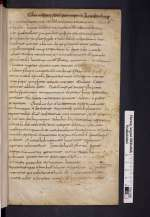 Cod. Guelf. 74 Weiss. — Origenes: In epistulam ad Romanos VI–X — Weißenburg (?), 8./9. Jh.
