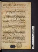 Cod. Guelf. 80 Weiss. — Opus imperfectum in Matthaeum — Weissenburg, IX. Jh., Mitte