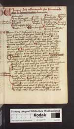 Cod. Guelf. 82.8 Quod. (7a) — Ars praedicandi — 15. Jh.