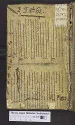 Augustinus; Gregorius I papa (Cod. Guelf. 903 Helmst., VS)