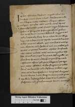 Cod. Guelf. 92 Weiss. — Hrabanus Maurus In Ezechielem 1-6 — Fulda, 9. Jh., Mitte