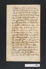 V S 447e — Christian II. <Anhalt-Bernburg, Fürst>: Brief an Fürst Ludwig von Anhalt-Köthen — 27.03.1628